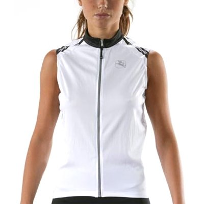 Giordana 2008 Women's Silverline Sleeveless Cycling Jersey - White - GI-WSLV-SILV-WHIT (M) (Jersey Womens Silverline Giordana)
