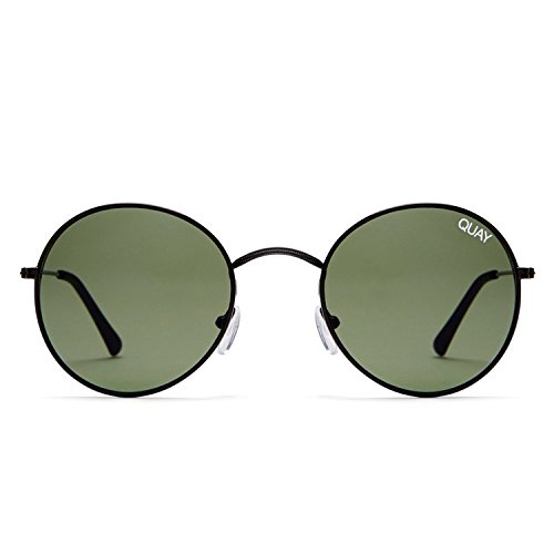 Quay Australia MOD STAR Women's Sunglasses Vintage Small Round - - Shopbop Sunglasses