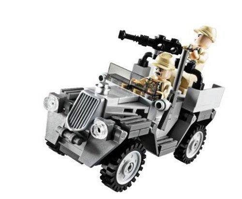 LEGO #7622 Indiana Jones Race for the Stolen Treasure