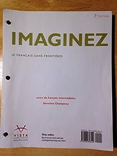 imaginez 3rd ed student activities manual vhl 9781626808164 rh amazon com