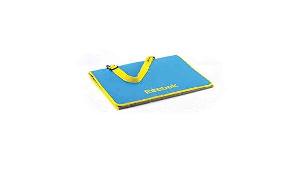 Amazon.com: (10 PACK) - Reebok - Tri-Fold Fitness Mat - Cyan ...