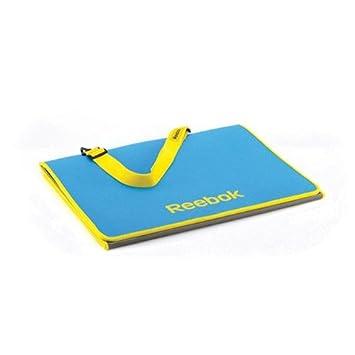 Amazon.com: Reebok - Tri-Fold Fitness Mat - Cyan   130 X 58 ...