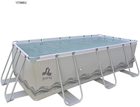 Jilong 17726EU - Piscina Exterior, Color Gris: Amazon.es: Juguetes ...