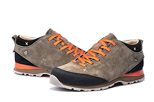 senximaoyi Outdoor hiking shoes antiskid shoes casual shoes wear warm travel camp,Grey,7.5