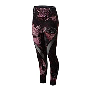 New Balance Women's Transform Mesh Tight, Navarose, L