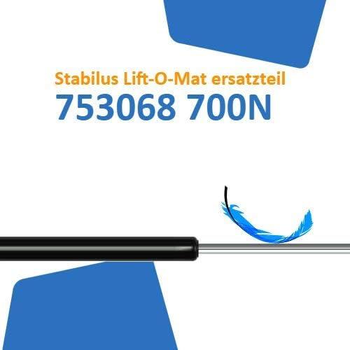 Ersatz f/ür Stabilus Lift-O-Mat 753068 0700N