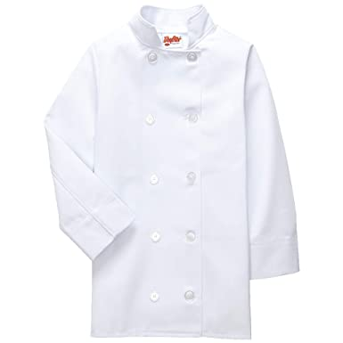 ca8c6107 Amazon.com: DayStar Apparel 950 Long Sleeve Child Chef Coat: Clothing