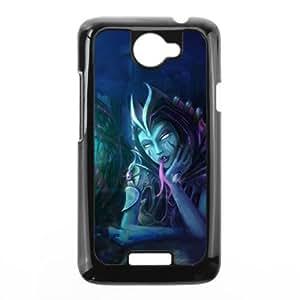 HTC One X phone case Black League of Legends Cassiopeia DDD5305244