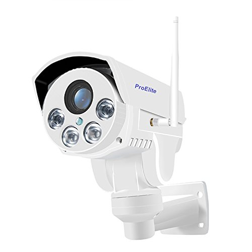 ProElite POD04 PTZ WiFi Wireless HD Outdoor Waterproof 4X Optical Zoom 960p IP Security Camera CCTV (Supports Upto 128 GB SD Card) Price & Reviews