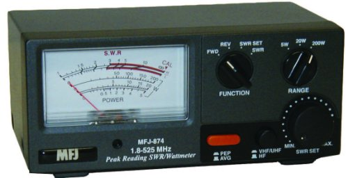 RF Power & SWR meter for 1.8-525Mhz - HF / VHF / UHF 200W