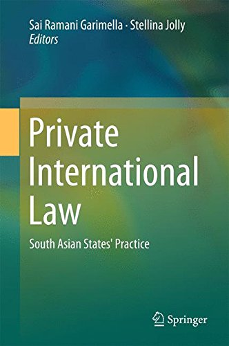 Private International Law: South Asian States' Practice