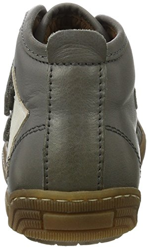 Bisgaard Unisex-Kinder Klettschuhe Hohe Sneaker Grau (400 Grey)