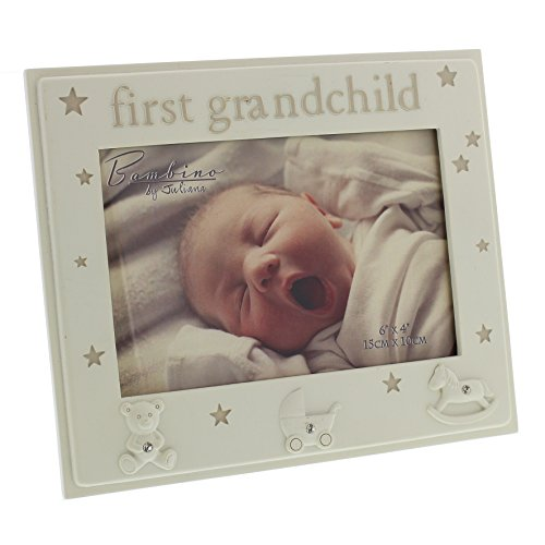 Oaktree Gifts First Grandchild Resin Photo Frame 6 x 4 by Oaktree Gifts