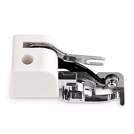 Efanr Side Cutter de costura y corte filo prensatela de fijación de pie pies prensatelas máquinas de coser accesorios de fijación para todos los bajo de ...