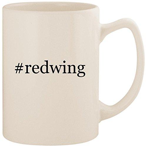 #redwing - White Hashtag 14oz Ceramic Statesman Coffee Mug Cup
