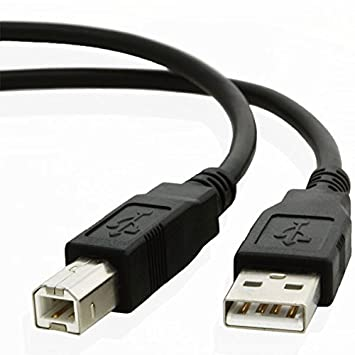 Cable usb 2,0 A macho A B impresora scanner: Amazon.es ...