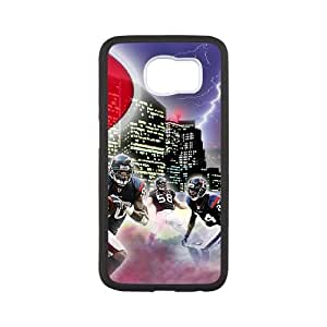 Houston Texans Samsung Galaxy S6 Cell Phone Case White 218y3-129402