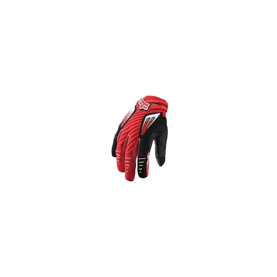 Fox Racing Platinum Gloves   11/Bright Red