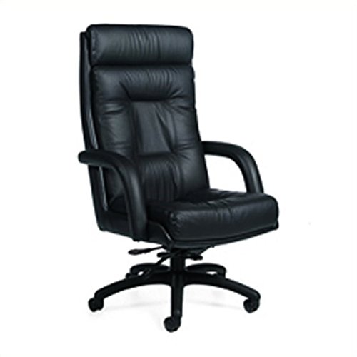 Global Arturo High-Back Leather Tilter Chair, 50