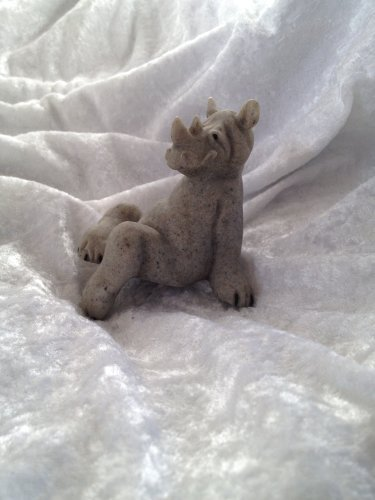 Quarry Critters Ricco the Rhino Shelf Sitter for sale  Delivered anywhere in USA