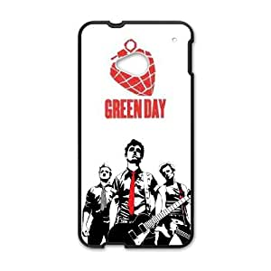 HTC One M7 Phone Case for Green Day pattern design GQCTGDPD795315