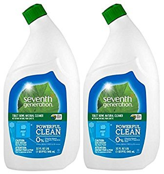 - Seventh Generation Toilet Bowl Cleaner - Emerald Cypress and Fir - 32 oz - 2 Pack