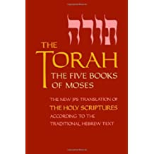 The Torah, Pocket Edition: The Five Books of Moses, the New Translation of the Holy Scriptures According to the Traditional Hebrew Text