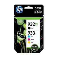 HP 932XL Ink Cartridge and HP 933 Color Ink Cartridge Combo Pack by HP 932XL Ink Cartridge and HP 933 Color Ink Cartri Office Product