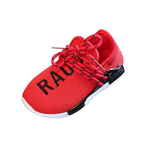 Tantisy ♣↭♣ Unisex Mesh Breathable Sneakers Comfy Casual Sport Shoes Anti-Slip Athletic Walking Shoes for Little Boys/Girls ()
