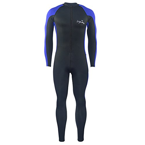 Dive Skins Lycra Full body Suit Swimsuit Wetsuit Diving Snorkeling Surfing Swim with UPF 50+ Protection for Mens-Brand Leeya (X-Large)