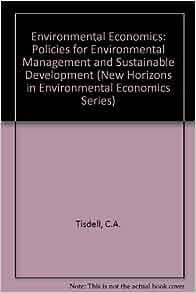 development ecological economics economics environment essay sustainable Ecological economics and sustainable development-selected essays of herman daly item preview remove-circle.