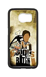 SOKY(TM) Newest and Fashionable Case The Walking Dead 28 White Phone Case for Samsung Galaxy S6 Edge