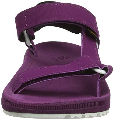 Dapu Mujer Teva S Descubierta Morado De W Para Sandalias Purple dark Punta Winsted w8xHSnq7w