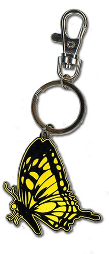 Blast Of Tempest Monarch Butterfly Metal Keychain Toy Zany 36717