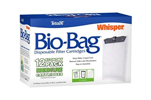 - Bio-Bag Filter Cartridges Medium,12-Pack, New!!!