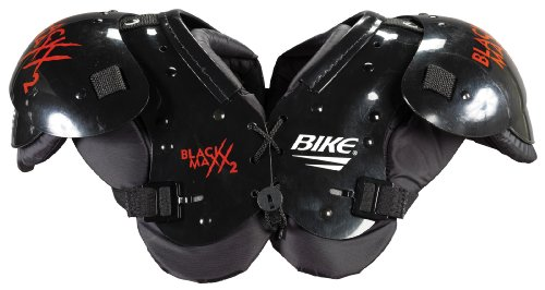 (Bike BYSHMD Youth Blackmaxx 2 Shoulder Pad (BLK-Black - Medium))