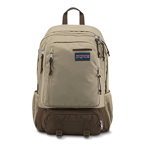 (JanSport Envoy Laptop Backpack - Desert Beige)