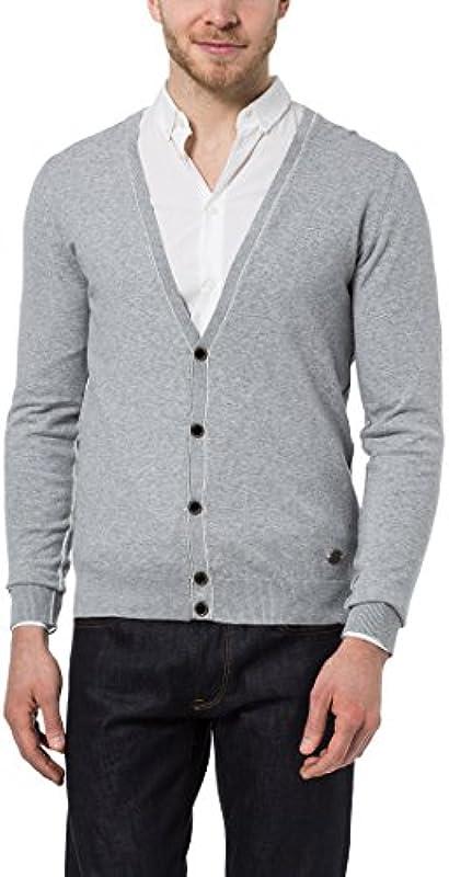 James Tyler męski Cardigan w modnych kolorach trend: Odzież