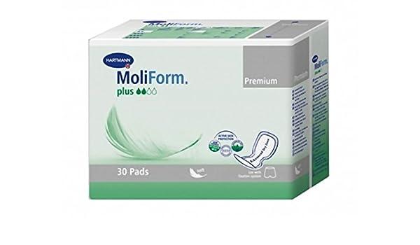 Hartmann Moliform Premium Soft Plus Pack de 30 Pañales - Lote de 2: Amazon.es: Salud y cuidado personal