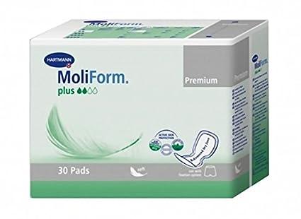 Hartmann Moliform Premium Soft Plus Pack de 30 Pañales – Lote de 2