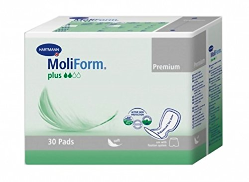 Hartmann MoliForm Premium Soft Plus Pack of 30  Nappies  –   Pack of 2 1682191