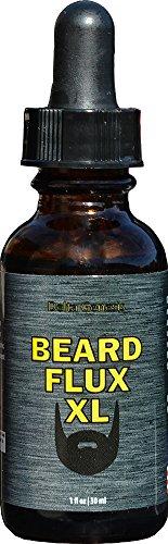 Beard Flux XL   Top Facial Hair Solution for Maximum Beard Fuel Volume   Invigorate and Care for Your Man Beard   Maximize Healthy Growth   Fragrance Free Beard Oil