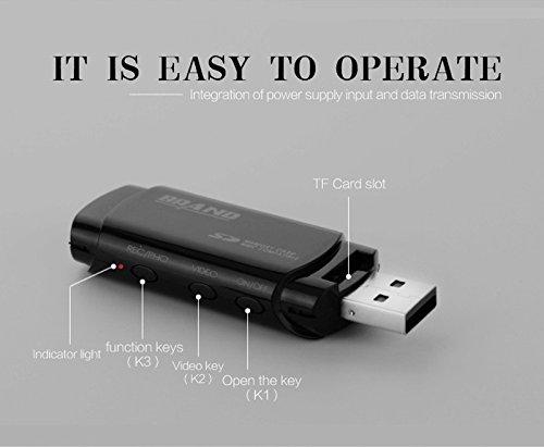 16G 1080P HD Camcorder Motion Detection IR Night Vision Cam Mini DVR U Disk USB Camera Voice - Disk Camera Spy Hd Usb Hidden
