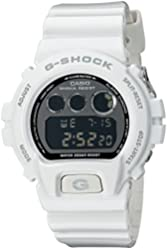 Casio G-Shock Mirror-Metallic White Mens Digital Watch - Casio DW6900NB-7
