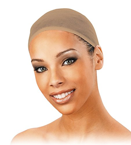 Wig Cap (24 pack) - Natural Light Beige, Wig Cap - Weaving, stretchable, fishnet, snood, hair, stocking wig cap by Annie