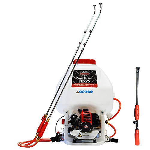 Tomahawk 6.6 Gallon Gas Power Backpack Pesticide/Fertilizer Sprayer for Mosquitoes and Ticks ...
