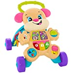 Fisher-Price Laugh and Learn Smart Stages Learn with Sis Walker, Colourful Musical Walker for sit and Play and Stand and…