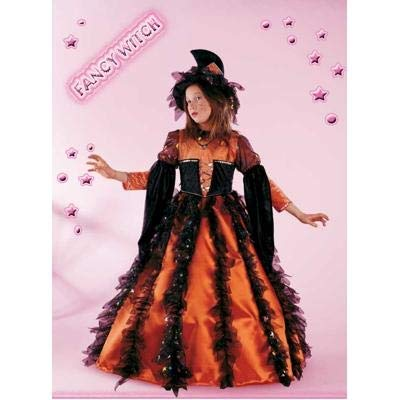 Fancy Magic Costume Halloween - Fancy Witch 3 4 Anni