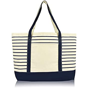 21a1e913123 Amazon.com: Deluxe Canvas Tote Bag, Black: Clothing