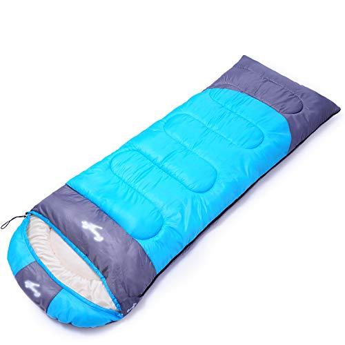 YYSD El Saco de Dormir, Que acampan al Aire Libre viaja el Saco de Dormir Caliente, se Puede empalmar el Saco de Dormir Impermeable a Prueba de Agua y a ...